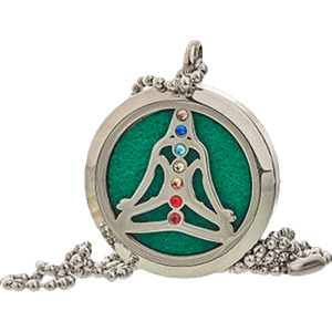Yoga Chakra Aromatherapy Jewellery Necklace - 30mm